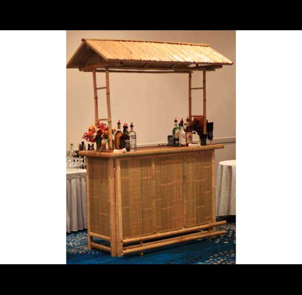 Party Perfect Rentals - Bamboo Tiki Bar