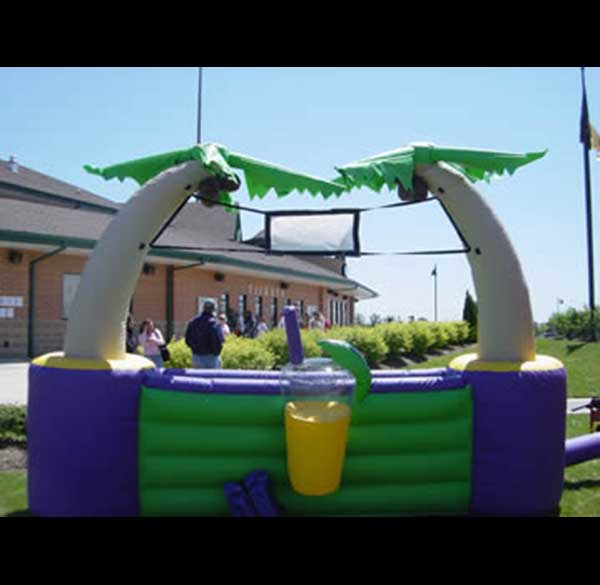 Party Perfect Rentals - Inflatable Tiki Bar