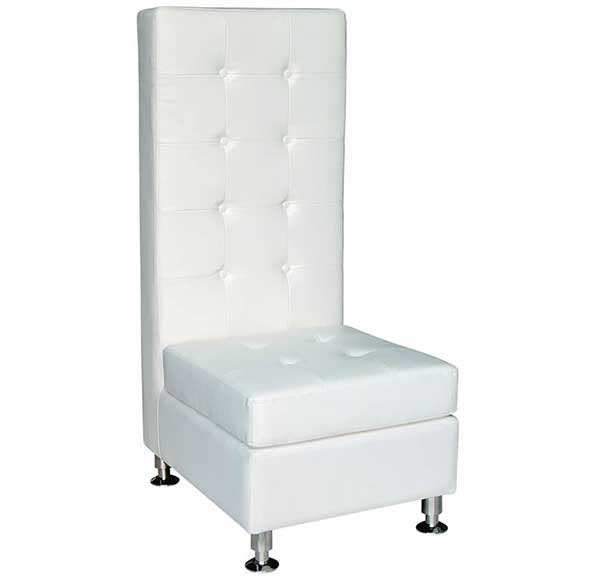Party Perfect Rentals - High Back Chair