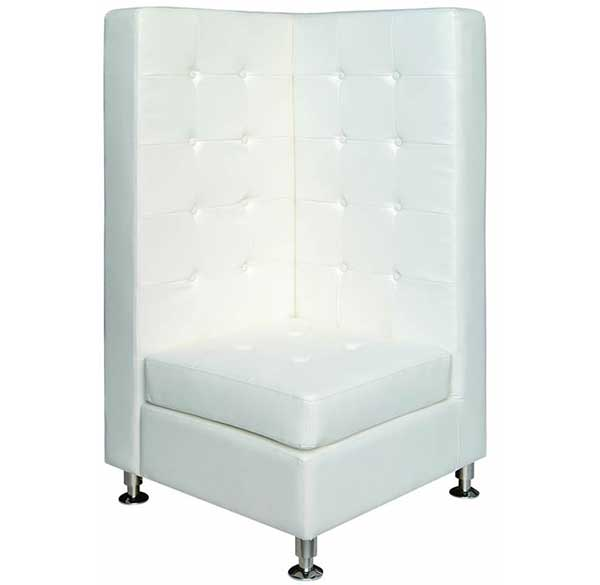 Party Perfect Rentals - High Back Corner Chair